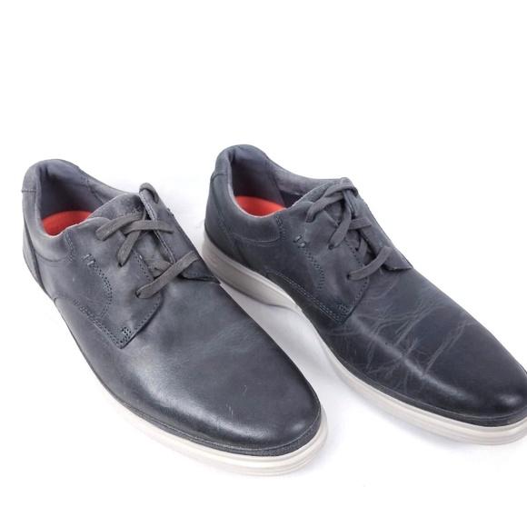 Rockport Herren Plain Toe Formal Schuhe Schwarz